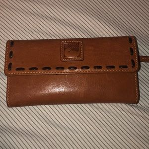 Florentine Leather Continental Clutch Wallet